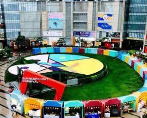 上海日月光中心-西六门门口外广场