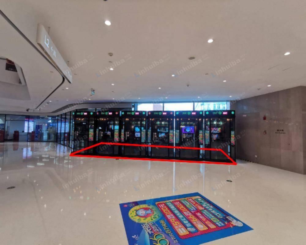 上海龙湖虹桥天街 - 二楼共享区入口处机器点位