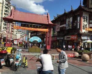小上海海步行街入口处