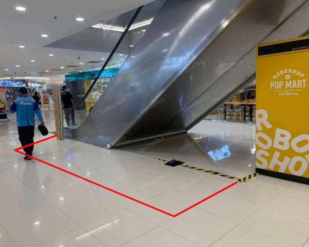 上海凯德七宝购物广场 - 一楼扶梯口机器点位