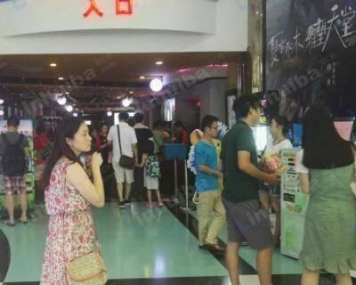 上海海上明珠国际影城莘庄店 - 售票厅,入场口