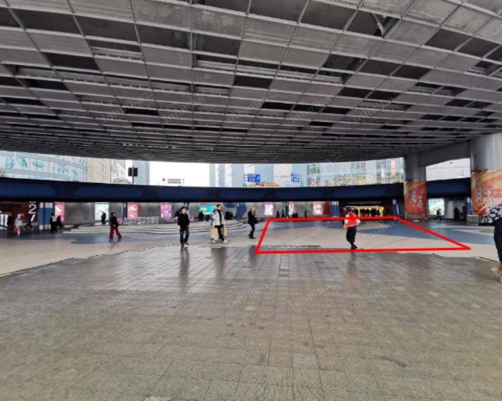 上海五角场下沉式广场 - 中心平台