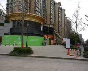 黄金城道步行街(近古北路)星巴克前广场