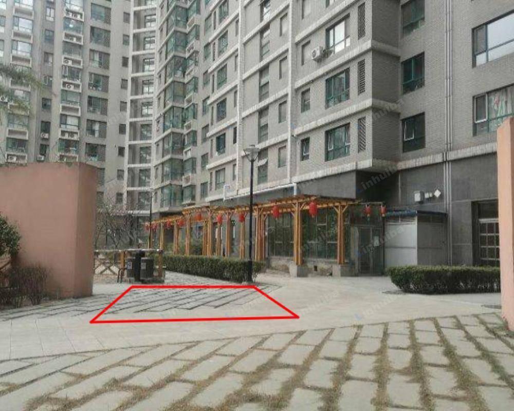 北京西屋国际公寓 - CD座花园入口位置