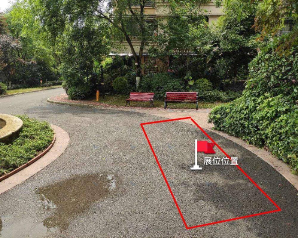 重庆景瑞御蓝湾 - 中庭喷泉旁
