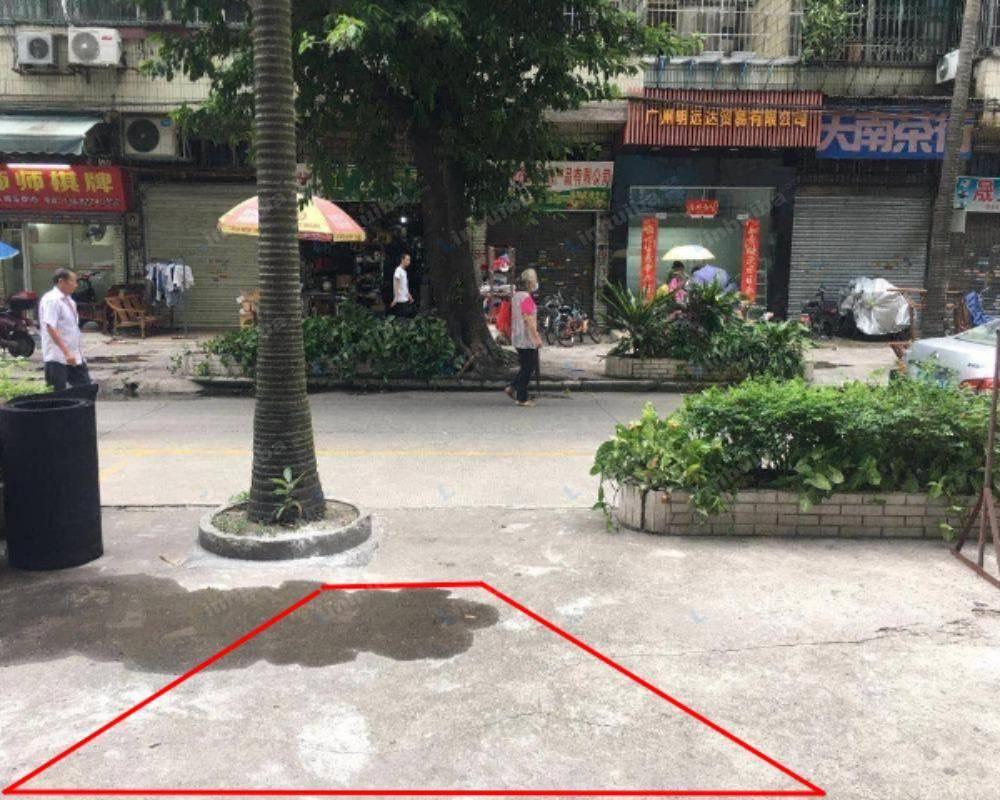 广州上步花园西区 - 正门口主干道旁