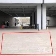 园区内连廊广场空地