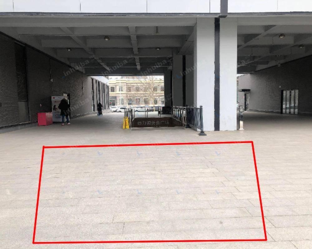 北京恒通国际商务园 - 园区内连廊广场空地
