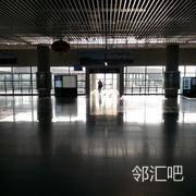 二楼候车大厅十三站台入口前侧位置