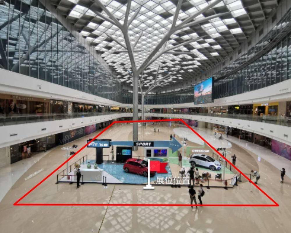 北京合生汇购物中心 - 五层中庭