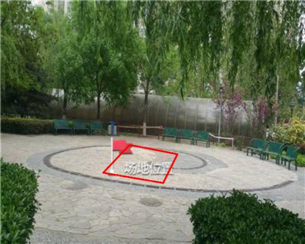 北京西罗园南里京品小区 - 小区中心小广场
