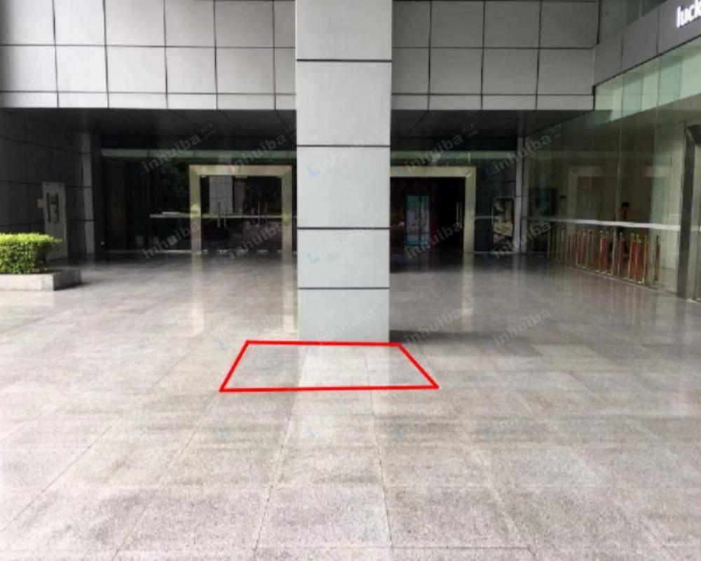 深圳市国人通信大厦 - 餐厅门口