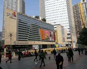 重庆龙湖西城天街购物广场