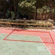 篮球场位置
