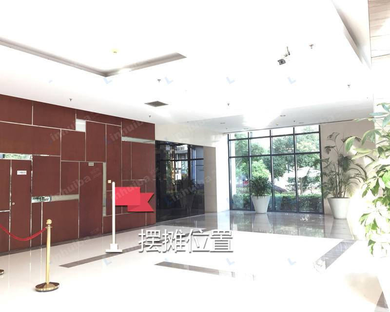 怡富商务广场写字楼 - 一楼大厅右侧