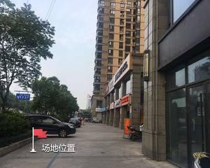 广业西文街-商业街内人行通道旁