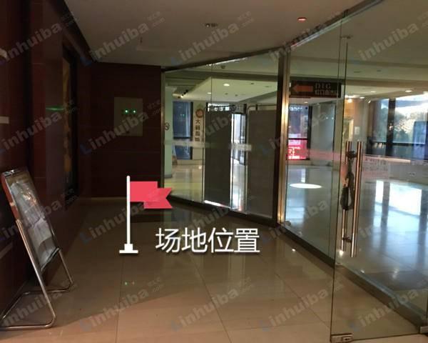 上海嘉杰国际广场写字楼 - 二楼地铁通道电梯玻璃门内
